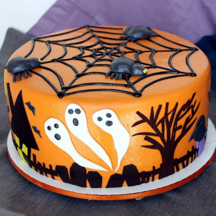 idée gâteau halloween 2019