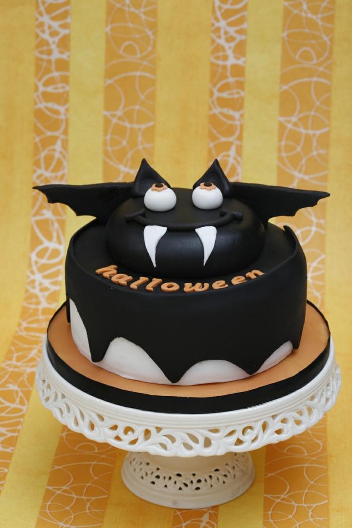 idée originale gâteau halloween