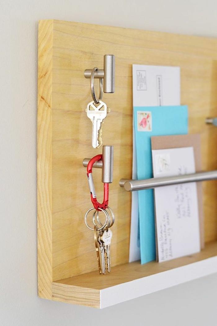 idée porte clés mural
