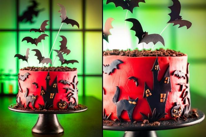 idée pour vous inspirer gâteau halloween
