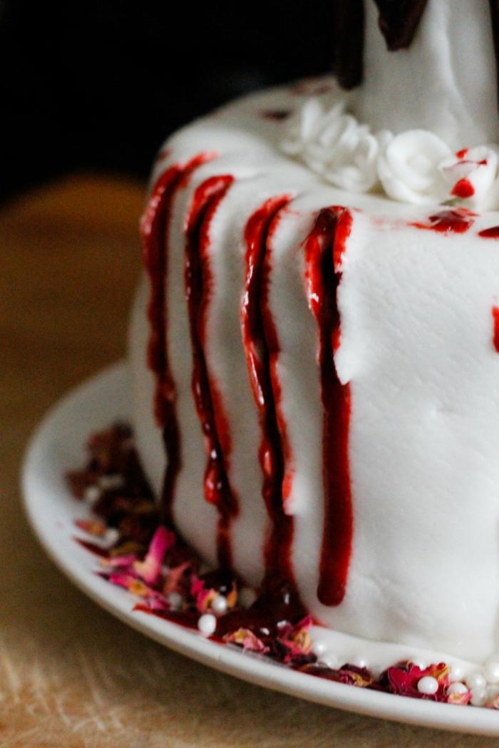 idée unique déco gâteau halloween