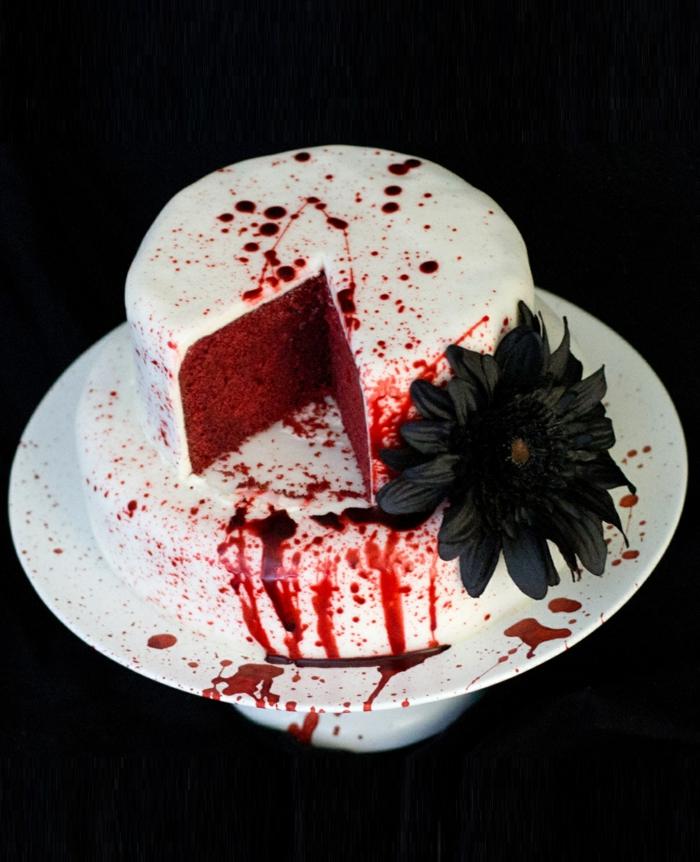 idée unique de gâteau halloween