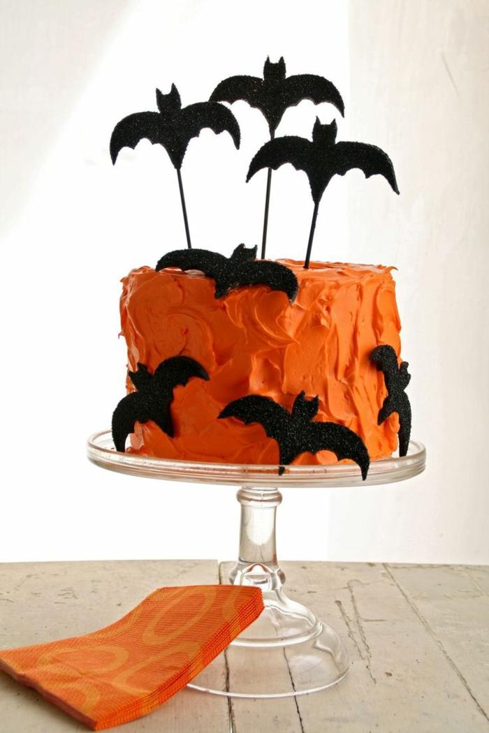 isnpiration gâteau halloween déco