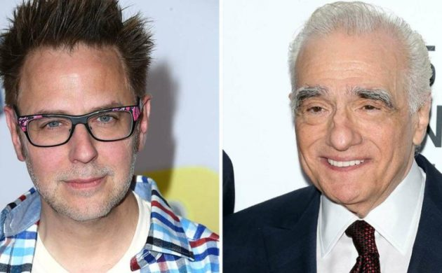 james gunn et martin scorsese