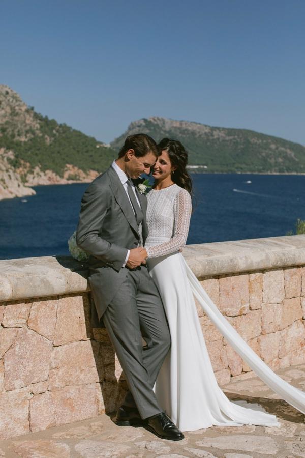 les nouveaux mariés rafa nadal et maria francisca