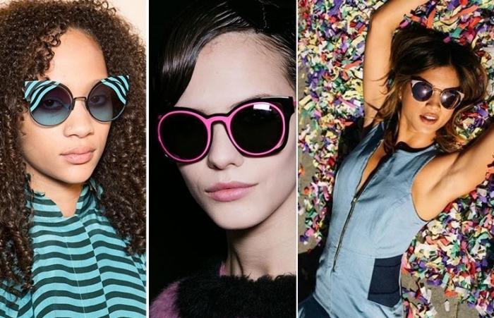 lunettes de soleil avec motifs