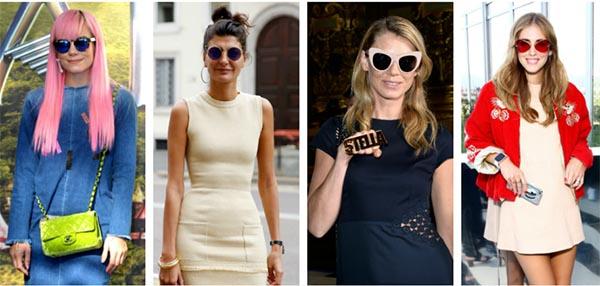 lunettes de soleil formes différentes