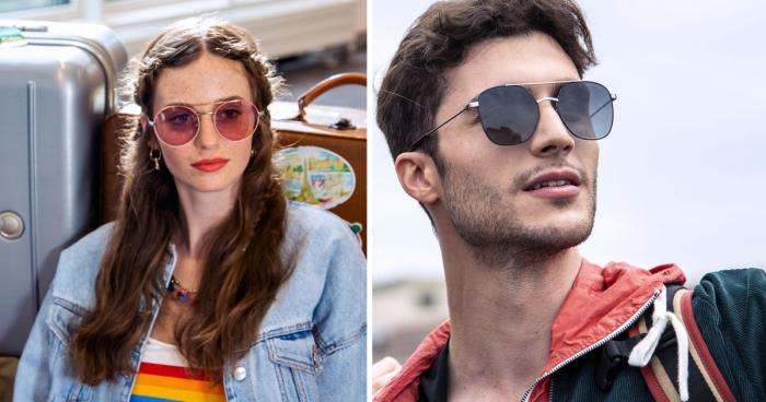 lunettes de soleil pour lui et pour elle