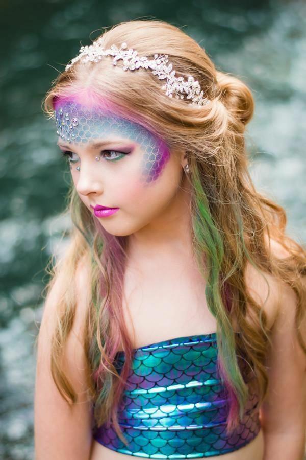 maquillage halloween enfant fille éphémère
