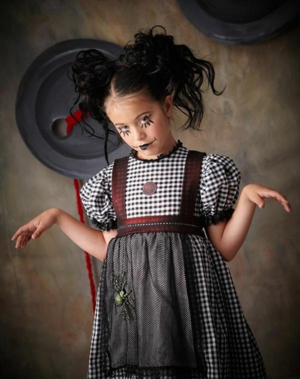 maquillage halloween enfant fille sorcière