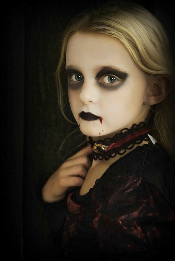 maquillage halloween enfant vampire