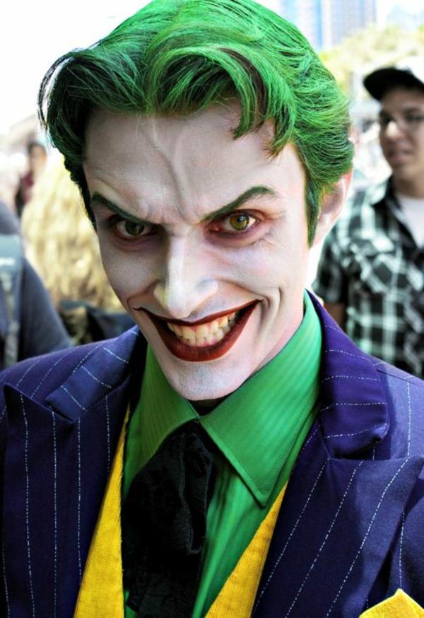 maquillage halloween homme le joker