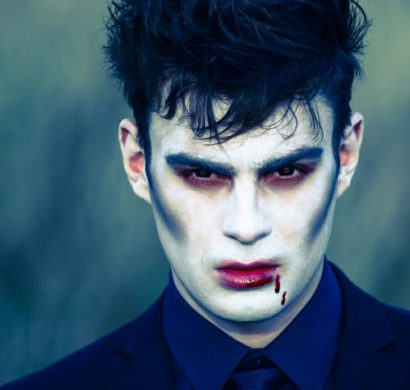 maquillage halloween homme