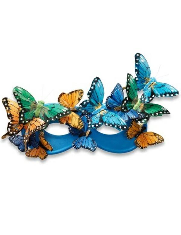 masque halloween à fabriquer vous-même papillon