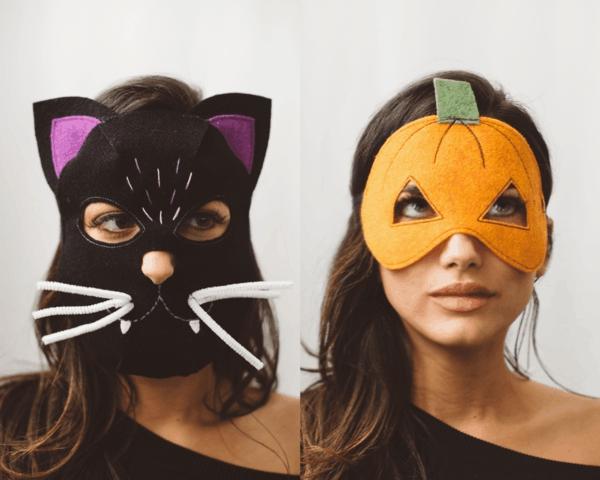 masque halloween à fabriquer vous-même pour femme