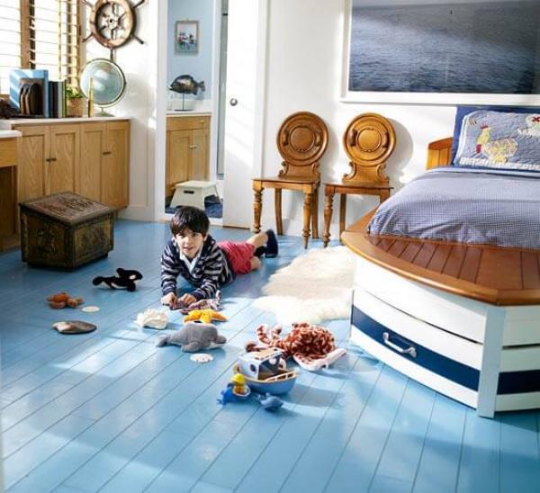 mobilier chambre enfant le thème nautique