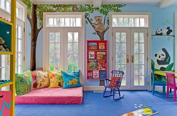 mobilier chambre enfant thème animalier