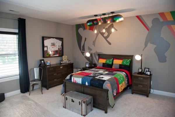 mobilier chambre enfant un goût sportif
