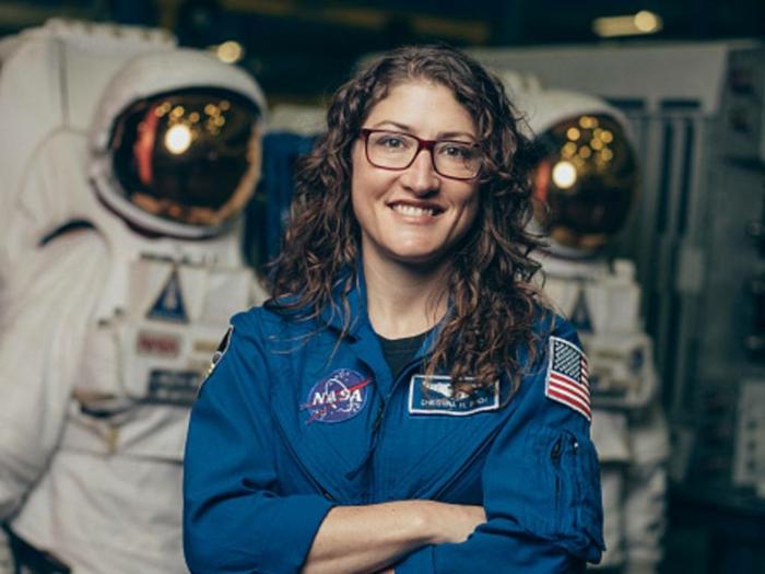 nasa astronaute christina koch