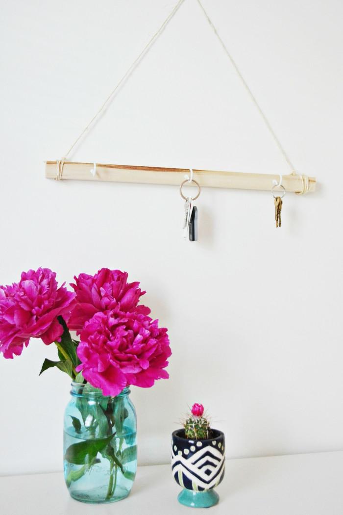 porte clés mural facile à faire