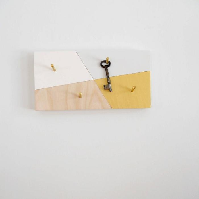 porte clés mural facile à réaliser