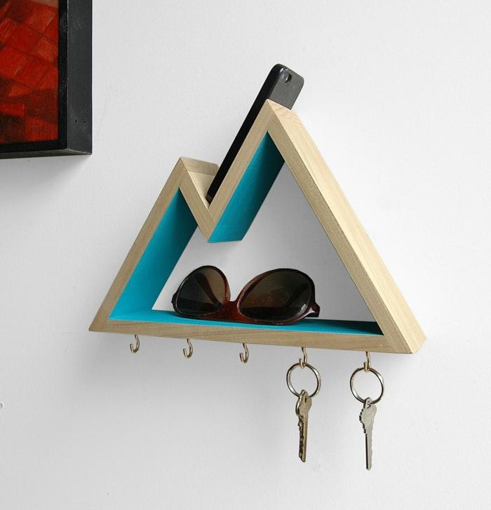 porte clés mural pratique et fonctionnel