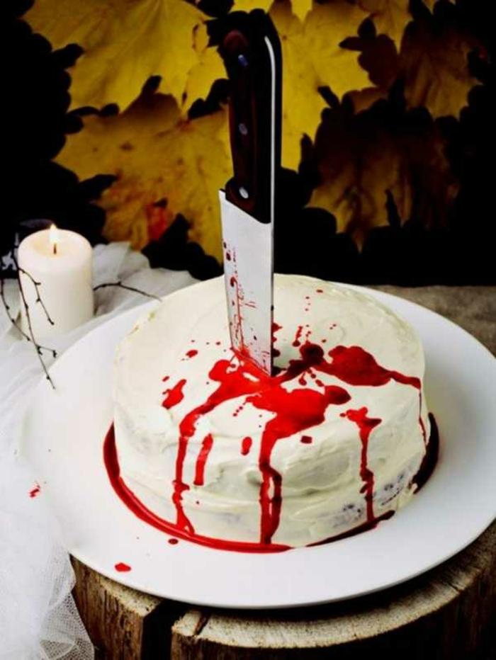 réalisation facile gâteau halloween effrayant dessrt unique