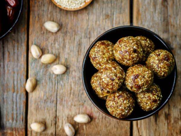 recette d'automne légère boulettes sucrées