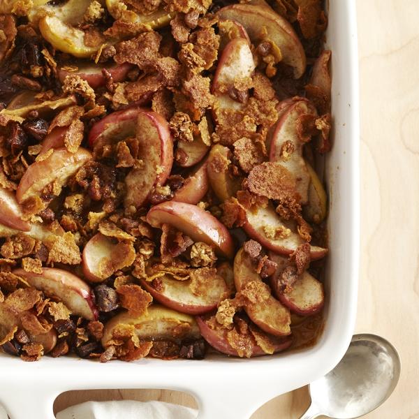recette d'automne légère noix et pommes
