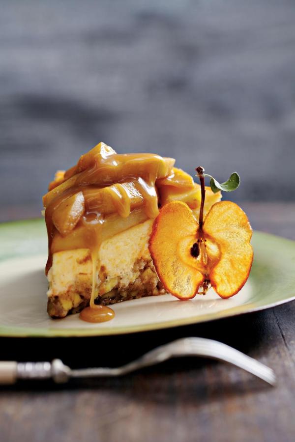 recette d'automne légère pommes caramélisées