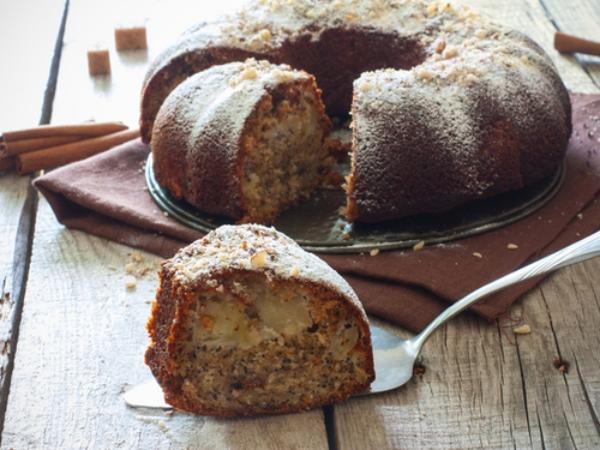 recette d'automne légère un gâteau aux pommes