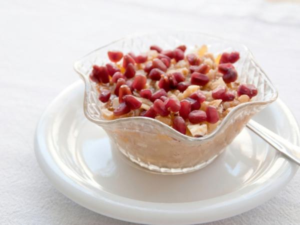 recette d'automne légère un dessert turc