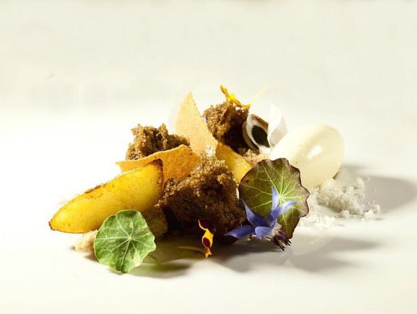 recette d'automne légère tranche de coing