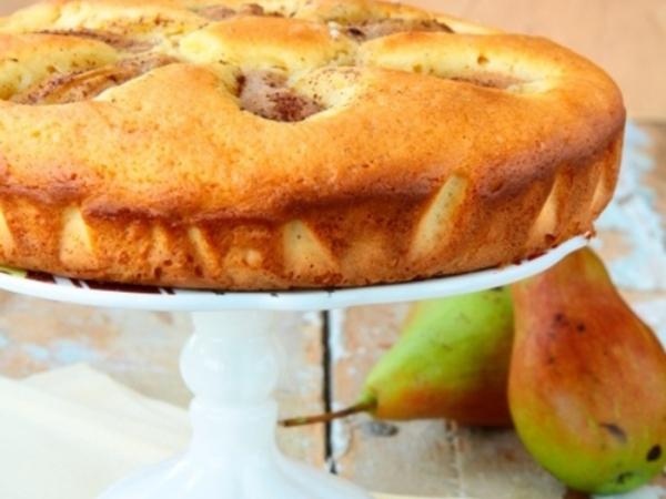 recette d'automne légère un gâteau aux poires