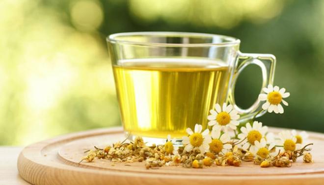remède de grand-mère thé de camomille