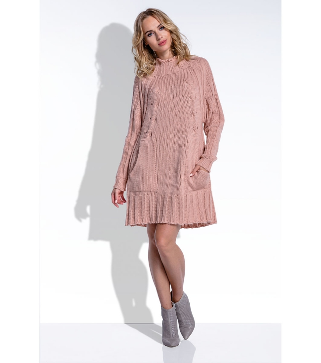 robe maille femme couleur pastel