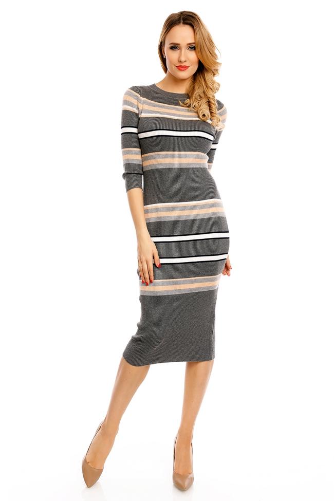 robe maille femme une robe élégante