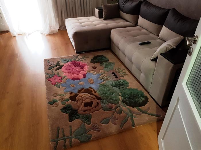 tapis imprimé animal un tapis mou