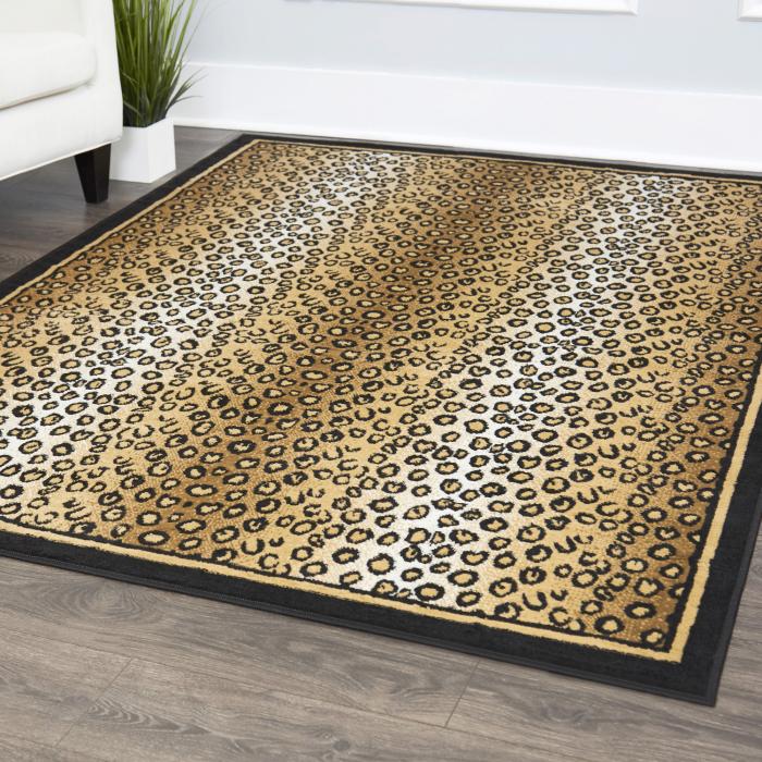 tapis imprimé animal tapis tendance