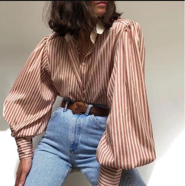 tendance mode femme 2019 manches bouffantes