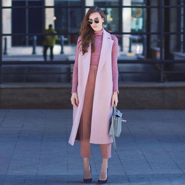 tendance mode femme 2019 couleurs pastel
