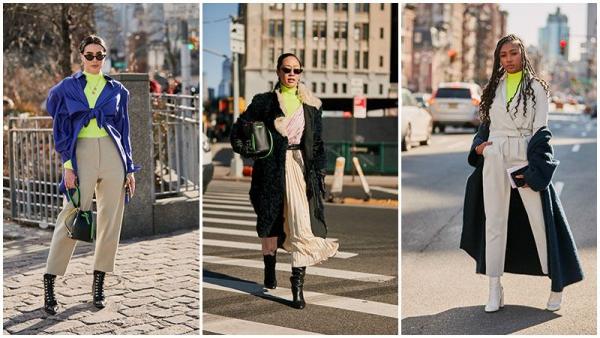 tendance mode femme 2019 le néon combiné