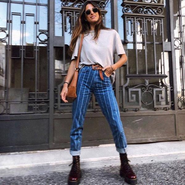 tendance mode femme 2019 bottes à lacets