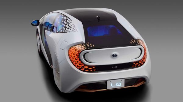 toyota lq système à intelligence artificielle