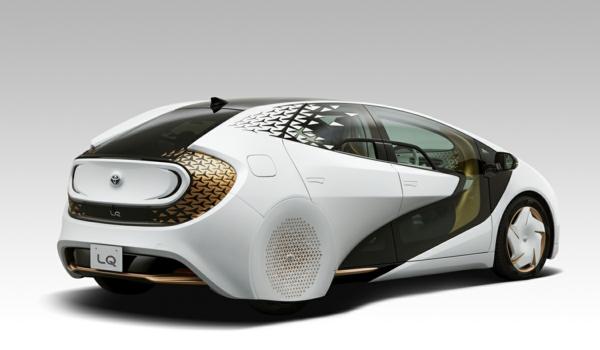 toyota lq véhicule électrique