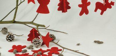Deco Noel Feutre 24 Idees De Decoration Fait Maison Tutoriel