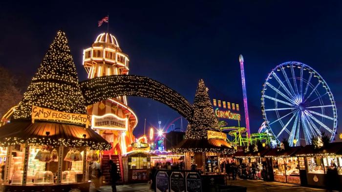 Londres les plus beaux marchés de Noël
