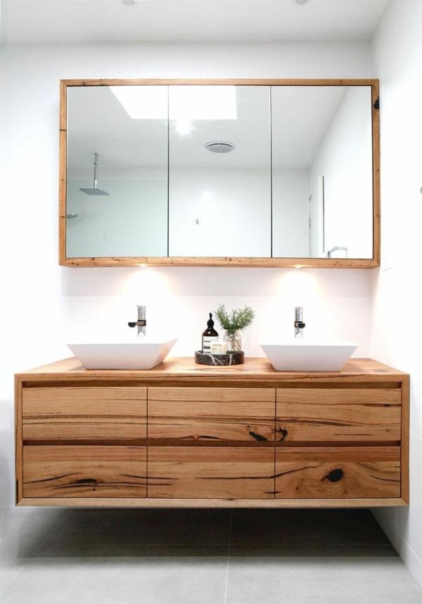Meuble rangement salle de bain armoire en mdf