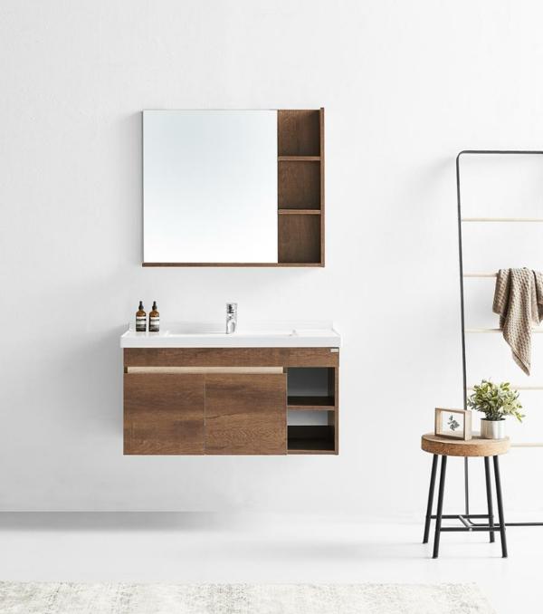 Meuble rangement salle de bain armoire suspendue
