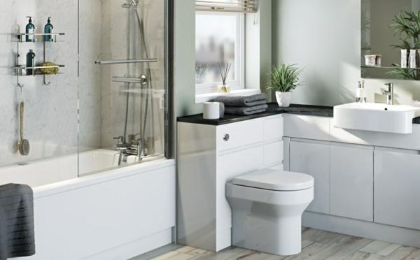 Meuble rangement salle de bain armoires basses